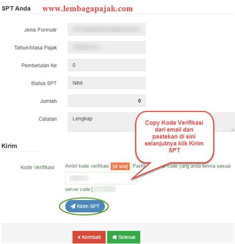 email djp e filing pajak online