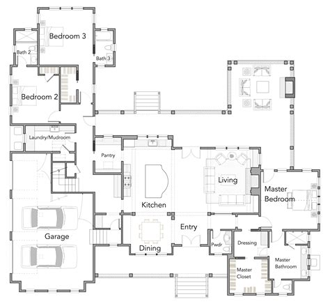 rest house design floor plan large open floor plans with wrap around porches rest