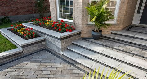 Unilock Georgetown Include A Retaining Wall In Your Mississauga On Landscape