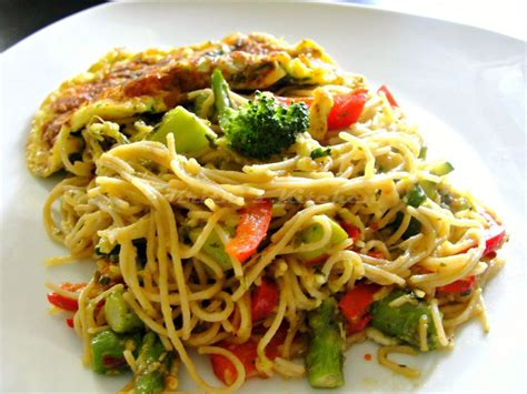 recipes with pasta krithi s kitchen pesto pasta primavera one bowl eggs