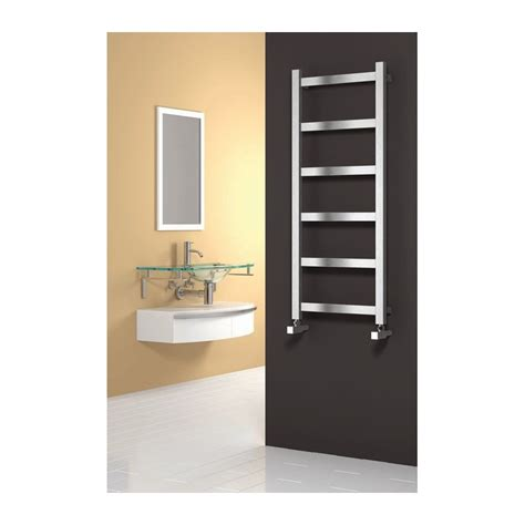 stainless steel radiators for bathrooms reina mina stainless steel radiator 1170mm high x 480mm wide