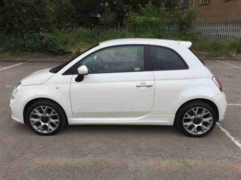 pearl fiat 500 fiat 500 s sport pearl funk white only 18 months 7k