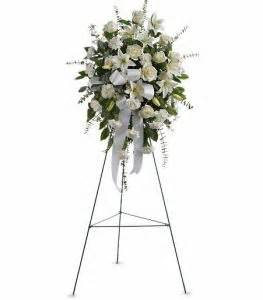 Funeral Plants Sentiments Of Serenity Spray T262 1a Coleman Florist Inc
