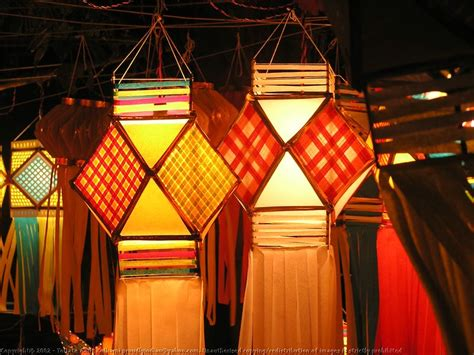 Diwali Paper Lantern Craft - beautiful diwali decoration ideas for 2017 festival