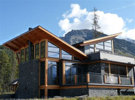 Modern Mountain Home Plans by Mountain Style Through The Front Door