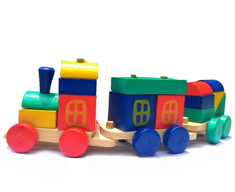 Mainan Edukatif Edukasi Anak Kereta Kayu Pelangi I kereta kayu pelangi mainan edukasi
