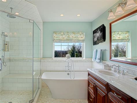 Master Bathroom Makeovers by Master Bathroom Makeover With Luxurious Tub Joan Suzio