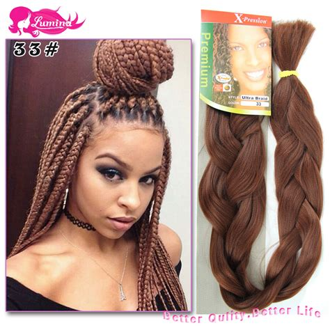 xpressions braiding hair box braids 30 find more hair weaves information about 1pc only kanekalon