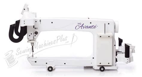 Hq Avante Longarm Quilting Machine by Hq 18 Avante Arm Show Model W 10ft Studio Frame