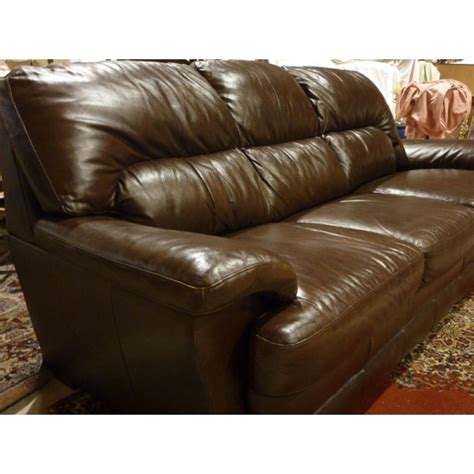 Large Brown Leather Sofa Large 3 Seater Brown Leather Sofa Froggatts Of Lincoln
