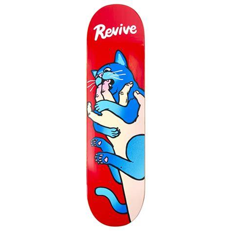 Skateboards Decks by Revive Cat Vs Skateboard Deck Revive Skateboards