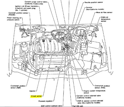 6 best images of 2001 nissan engine diagram 2003 nissan