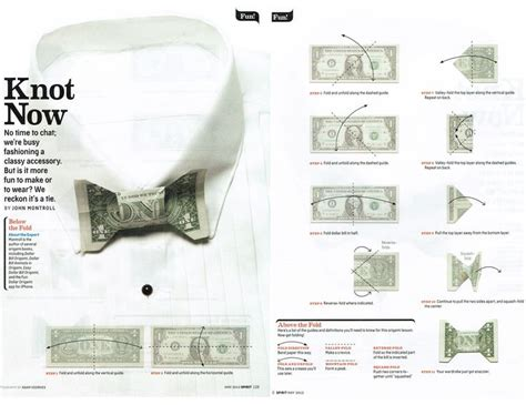 Origami Bow Tie Dollar - pin by re a z on dolar bill origami