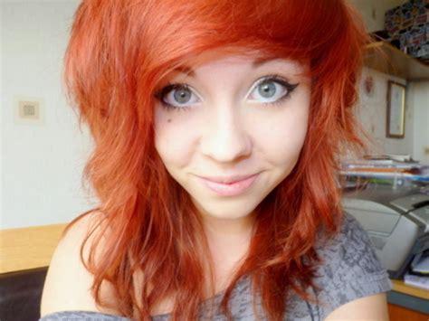Orange Girlset eyeline orange orange hair image 424340