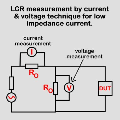 inductance meter principle lcr meter working principle and uses