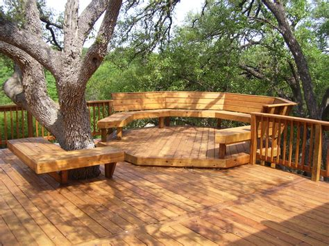 amazing beautifuly wood deck designs ideas home