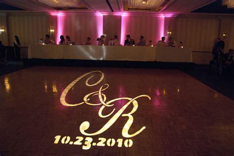 Monogram Lighting by Oklahoma Wedding Dj Monogram Lighting Mix Pro