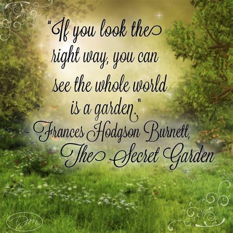 Quotes From The Secret Garden secret garden quotes quotesgram