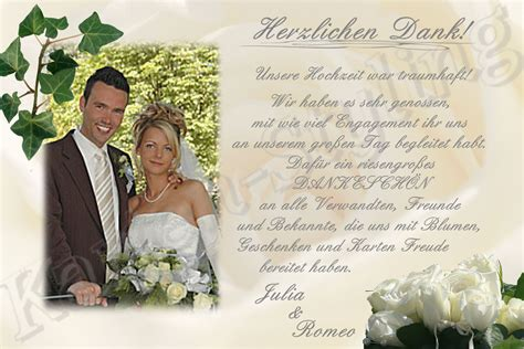 Dankeskarten Hochzeit by Dankeskarten Hochzeit Dankeskarte Hochzeit Danksagung