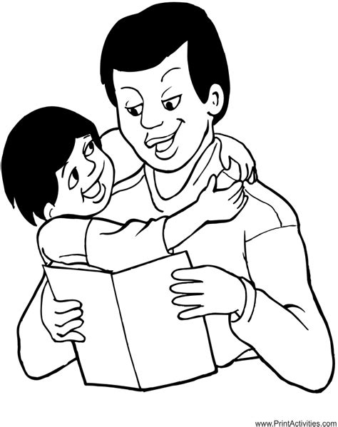 i you daddy coloring pages