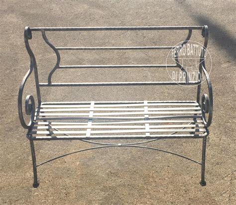 panchine da giardino in ferro sedie in ferro sedie e panche in ferro battuto panchine