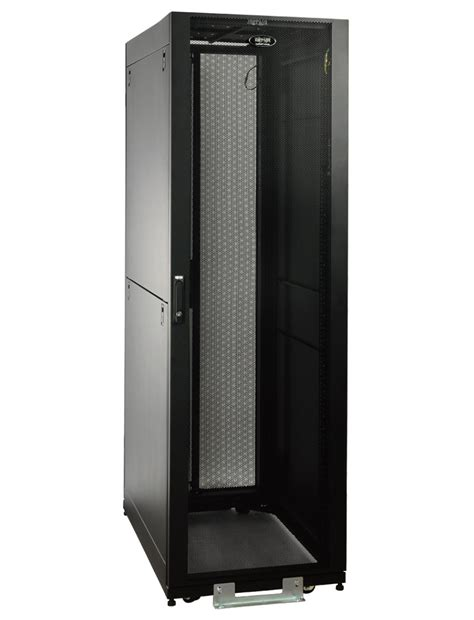 tripp lite sr2400 42u rack enclosure server cabinet doors