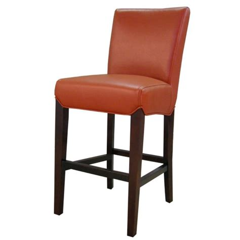 colored leather bar stools milton bounded leather bar stool