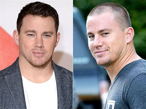 hairy before and shaved photos channing tatum shaves his head channing tatum haircut