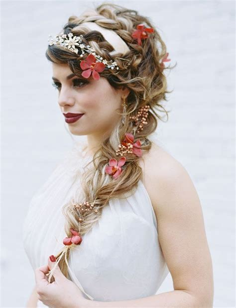 Fall Wedding Hairstyles by 27 Fall Wedding Hairstyles Ideas To Copy Magment