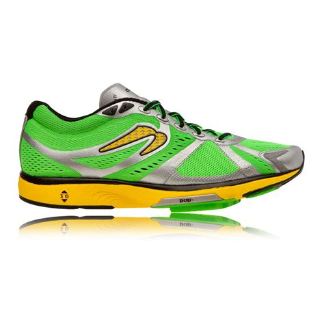 newton sneakers newton motion iv mens green cushioned road running sport