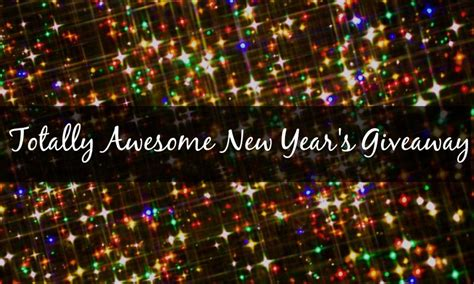 totally awesome new year s giveaway blogger sign ups nj