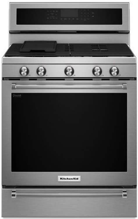 kitchenaid warming drawer 30 kfgs530ess kitchenaid 30 quot 5 burner gas convection range