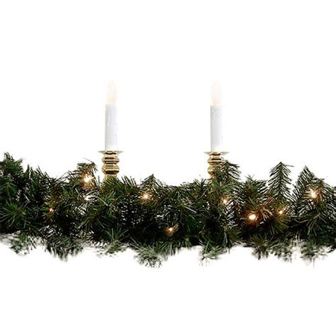 outdoor pre lit garland shop northlight 8 in x 9 ft pre lit indoor outdoor