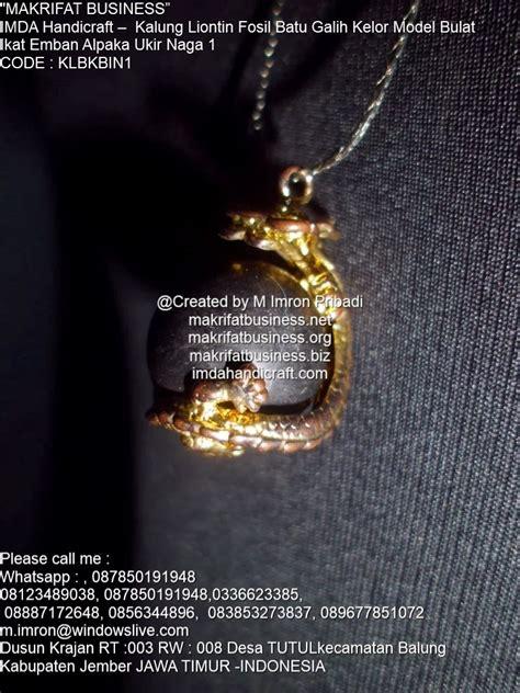 Batu Liontin Yin Dan Yang Bulat kerajinan kalung galih kelor kalung titanium liontin
