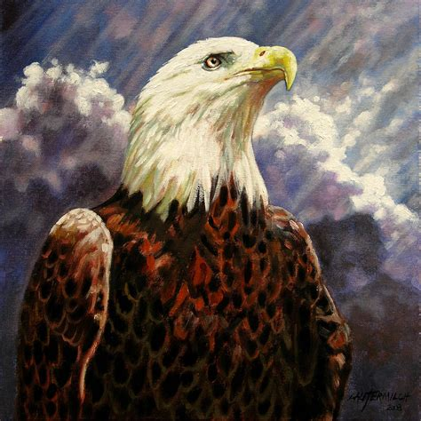 relaxing paintings fine art america god bless america painting by john lautermilch