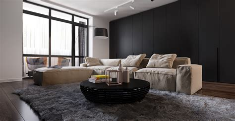 black and brown living room living room design ideas with sophisticated decor bring the uniqueness roohome designs