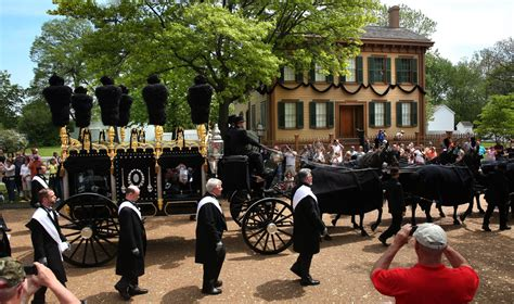 funeral homes in lincoln il lincoln funeral re enactment sunday may 3 2015 the