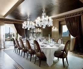 Luxurious Dining Rooms by Penthouse Luxury Dining Room Decor Newhouseofart Com