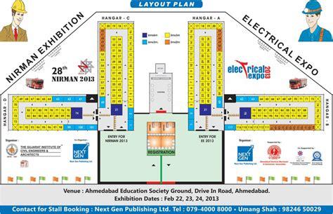 exhibition layout plan 28th nirman exhibition 2013