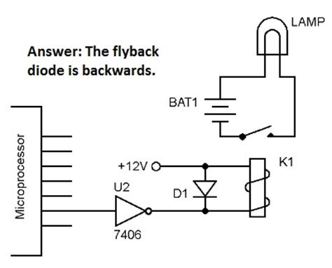 flyback diode theory flyback diode on relay 28 images led light bar wire harness schematic flyback diode light