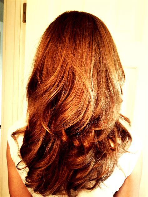 hairstyles uniform cut a long layered haircut i did long uniform layers then