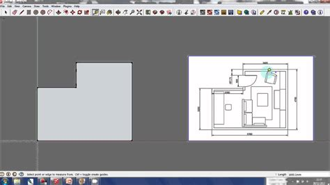 google sketchup for floor plans sketchup tutorial creating a 3d model from a floor plan