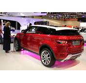Red Range Rover Evoque  3D Car Shows