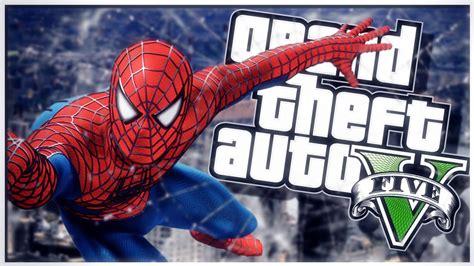 mod gta 5 spiderman new video gta 5 pc mod showcase super hero spiderman