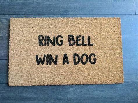 Soggy Doormat Canada by Ring Bell Win A Doormat Doormats In 2019