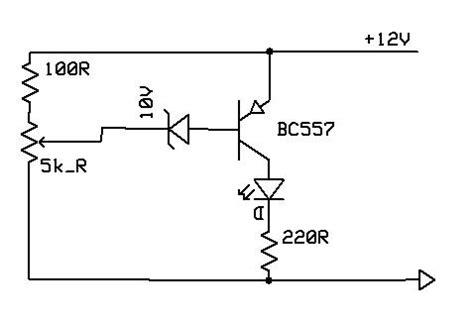 bc557 transistor working pdf problem with using pnp transistor bc557 and a led