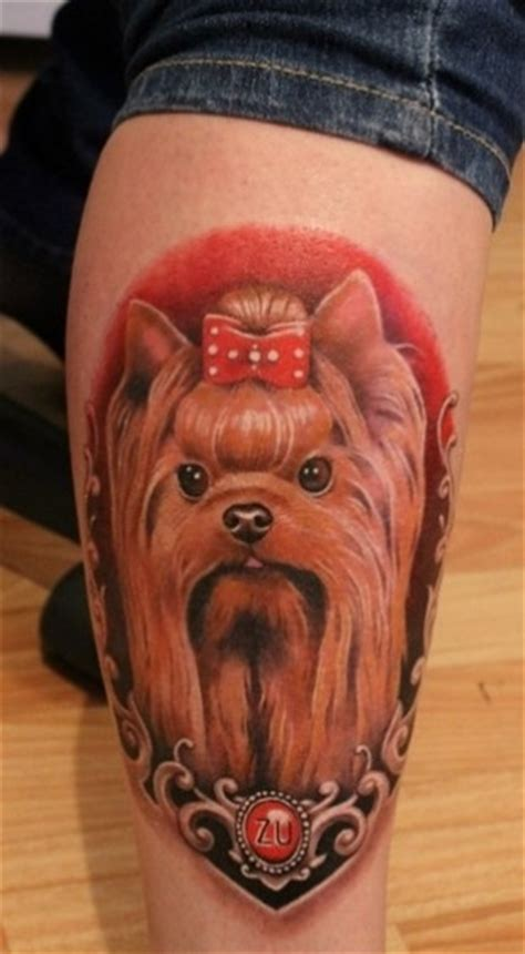 yorkshire terrier tattoo designs the 10 coolest terrier designs in the
