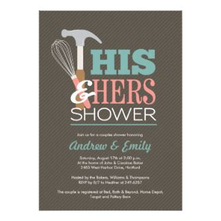 Couples Shower Invitation by Couples Wedding Shower Invitations Announcements Zazzle