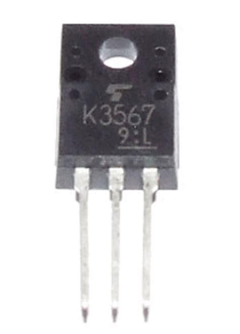 transistor k3567 datasheet k3567 datasheet k3567 pdf pinouts circuit toshiba
