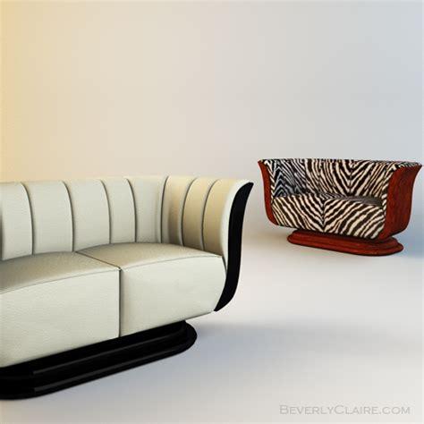 art deco loveseat art deco tulip loveseat club chair beverly claire